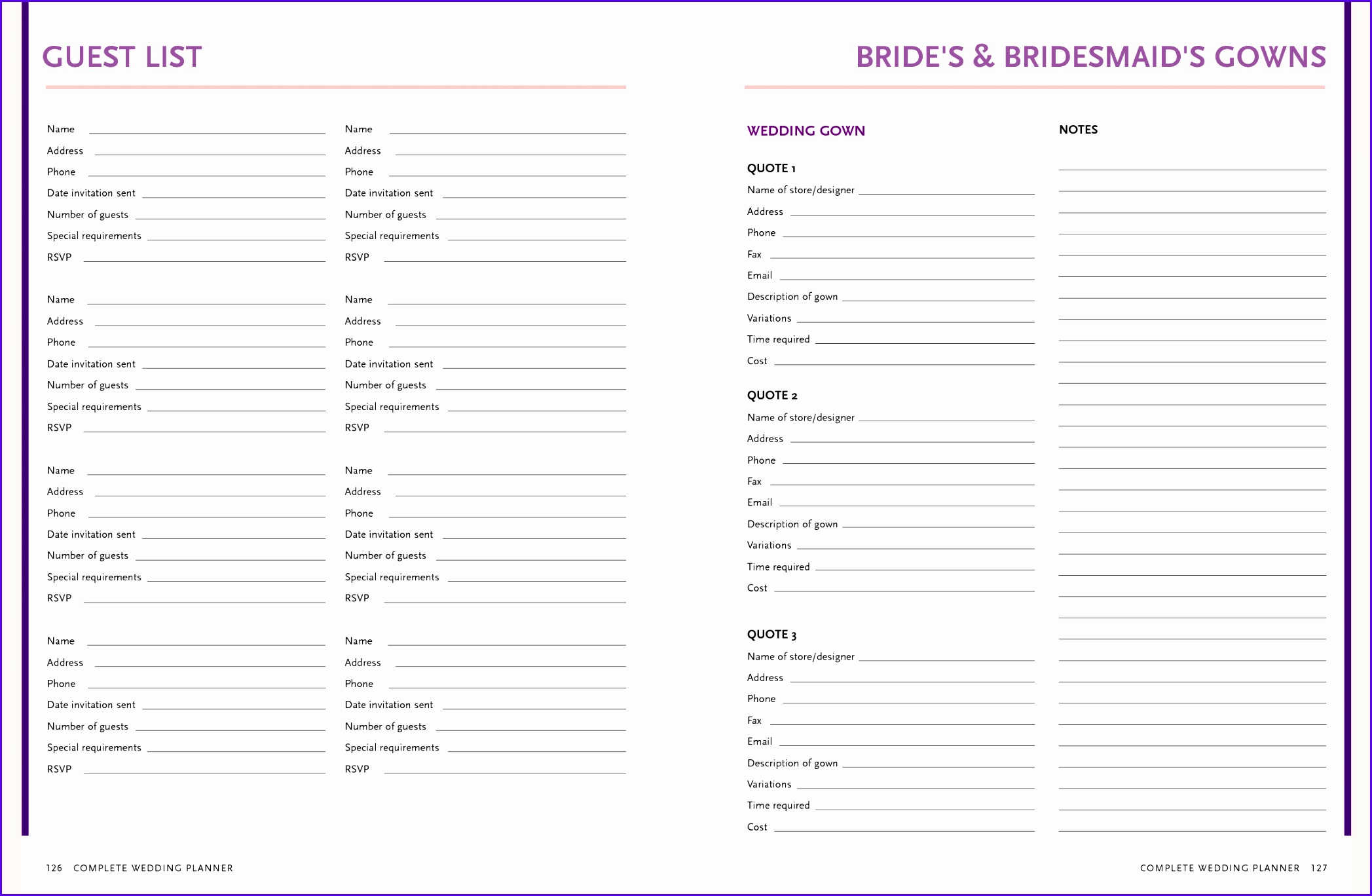 Wedding guest list template excel image collections 5 things your boss needs to know about 20951368