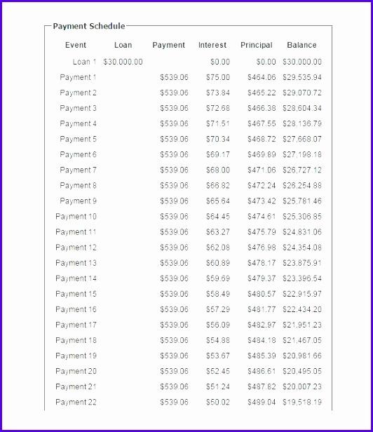 sample loan amortization schedule excel loan payment calculator online template loan amortization schedule excel 532616