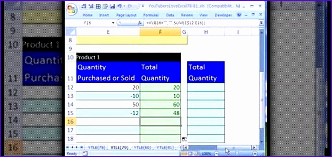 How to Create an Excel inventory template with running totals Microsoft fice WonderHowTo 1164552