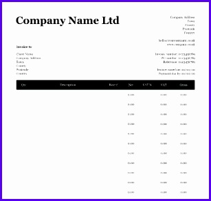 invoice templates uk 307293