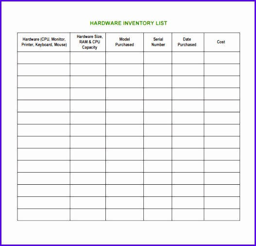 Inventory Excel Template  Exceltemplates  Exceltemplates