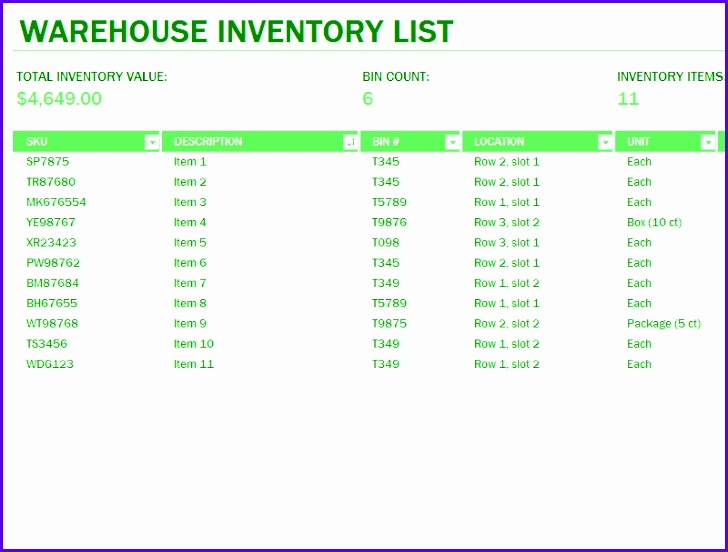 Sample Inventory Management Template Excel Odzuy Unique Stock Inventory Excel format Free Sample Excel File Inventory 800600
