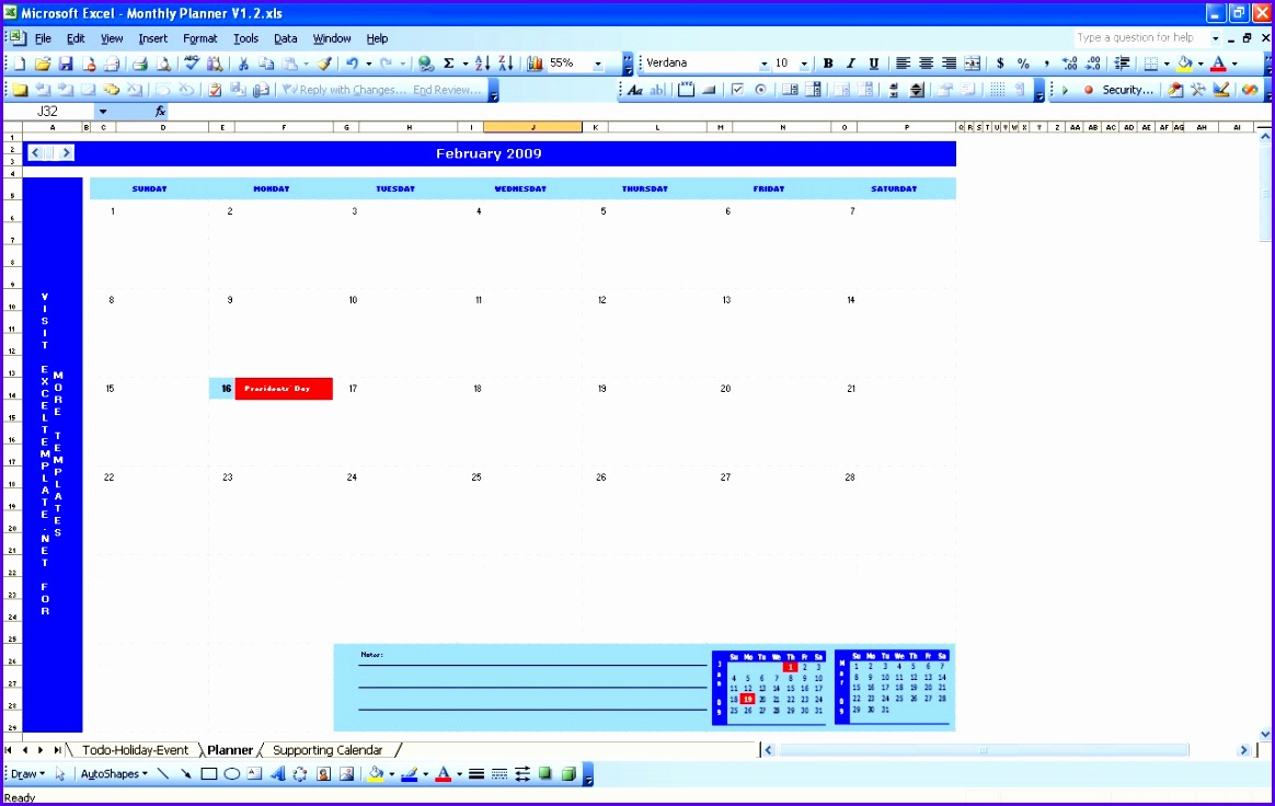 Monthly Planner 1164736