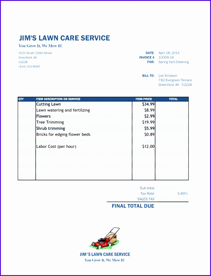 Topic Related to Free Sales Invoice Template Excel Pdf Word Doc Templates Invoices Micr 732958