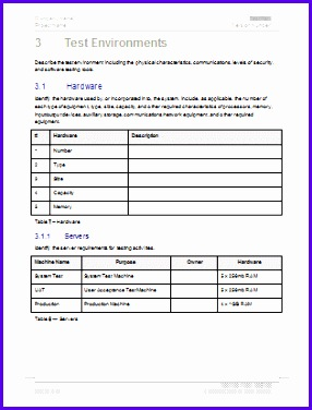 Sample Test Plan Excel Template Hchsq Best Of Test Plan Template 315409