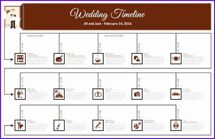 Sample Timeline Spreadsheet Template Excel U2yaf Beautiful Wedding Timeline Template – 35 Free Word Excel Pdf Psd Vector 788503