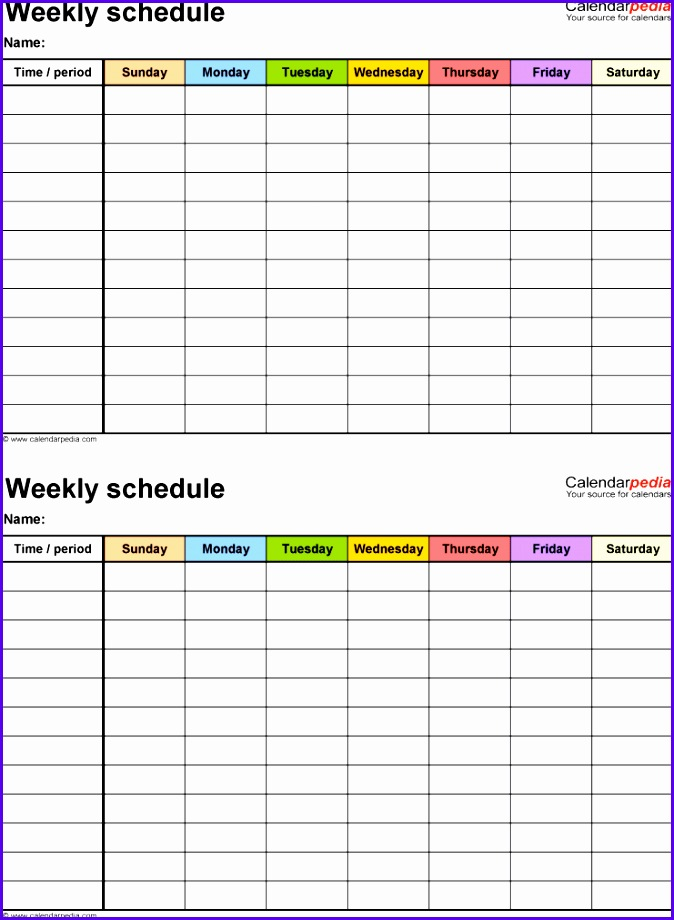 Sample Timetable Excel Template Uhmjf Best Of Free Weekly Schedule Templates for Excel 18 Templates 7411000