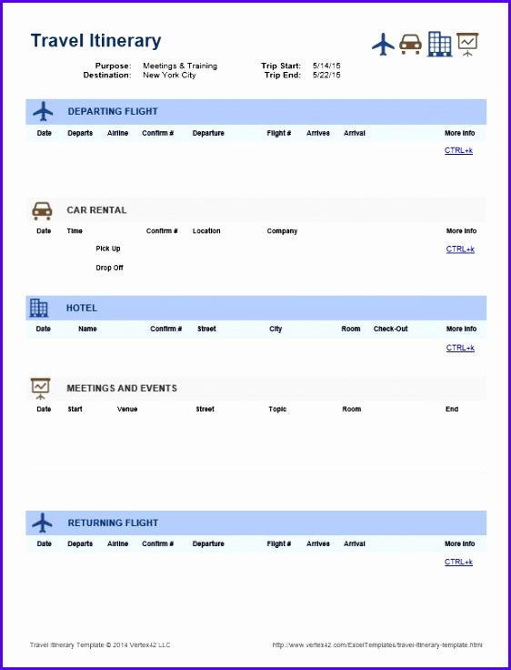 Sample Travel Schedule Template Excel Gcyxq New Best 25 Travel Itinerary Template Ideas On Pinterest 618801