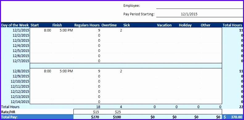 12 Vacation Schedule Template Excel Exceltemplates Exceltemplates
