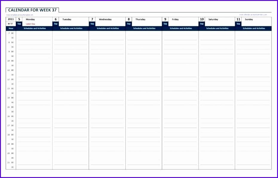 Sample Weekly Calendar Excel Template Bqfme Fresh Excel Weekly Calendar Templates Free Excel Weekly Calendar 1024651